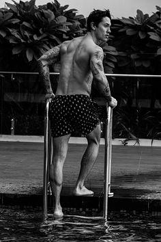 David Paul male fitness model