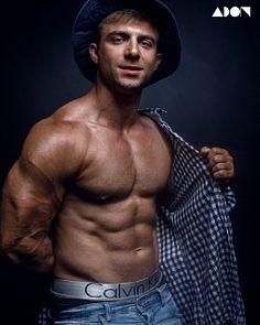 Dima Smagin male fitness model