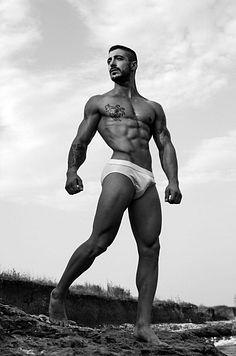 Dimitar Tamakhyarov male fitness model