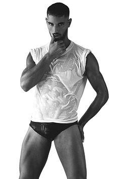 Djibril Benahmed male fitness model