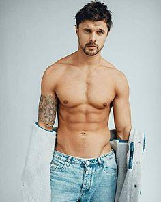 Dmitry Aleksandrov male fitness model