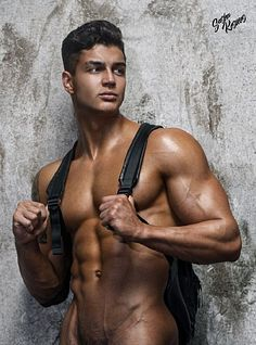 Dmitry Shumilin male fitness model