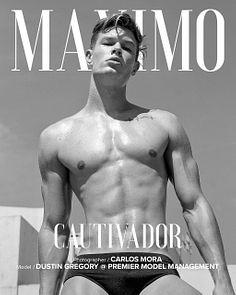 Dustin Gregory male fitness model