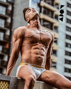 Errol Chrism male fitness model