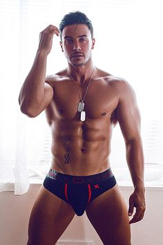 Esau Garcia male fitness model