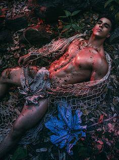 Fredd Bustamante male fitness model