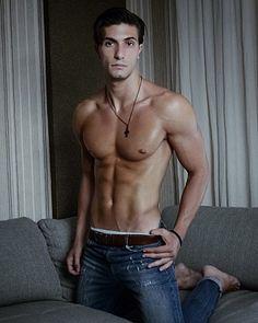 George Protopapas male fitness model