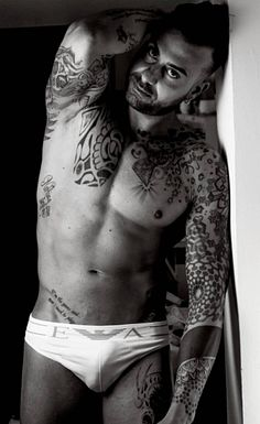 Gianni Ruvolo male fitness model