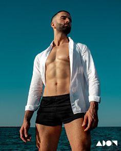 Glassan male fitness model