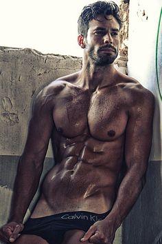 Hector Del Pino male fitness model