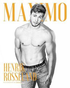 Henrik Rosseland male fitness model