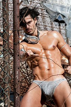 Isaac Moreno male fitness model