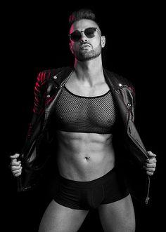 Jacques Liebenberg male fitness model