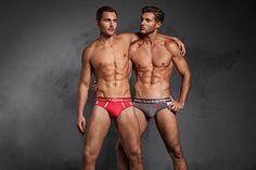 Jan Miedema & Thomas Sebastiaan Miedema male fitness model