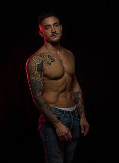 Javi Cantero male fitness model