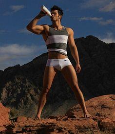 Jesse Blum male fitness model
