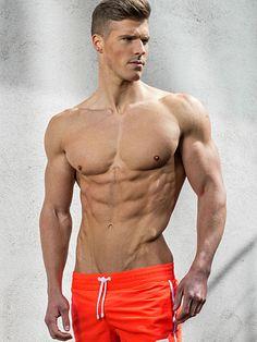 Joel Power male fitness model