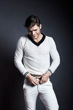 Johan Bruinsma male fitness model