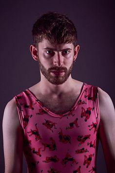 Jon Gómez & Oskar male fitness model