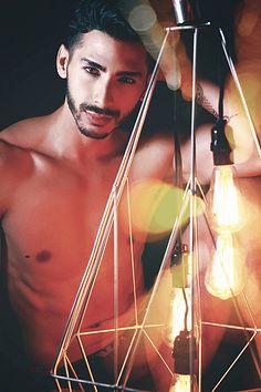 Jorge de la Puente male fitness model