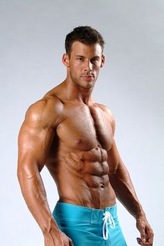Justin Woltering male fitness model