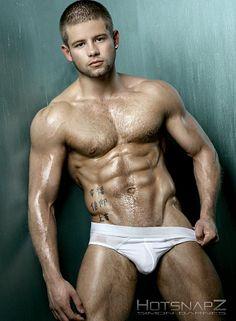 Kieran Congdom male fitness model