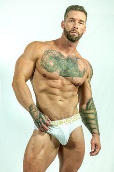 Kyland Brown male fitness model