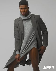 Leaon Gordon & Denzell Theodore male fitness model