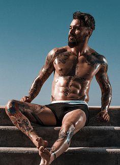 Leonardo Araujo male fitness model