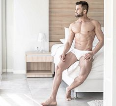 Lider H. Gamarra male fitness model