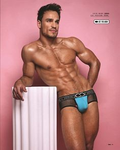 Lucas Escarcello male fitness model