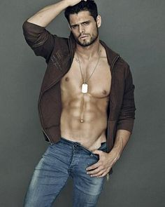 Lucas Velasco male fitness model