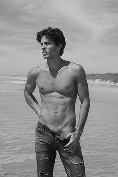 Luciano Guttierrez male fitness model