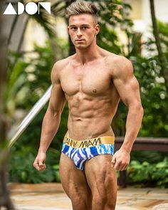 Luke Richardson male fitness model