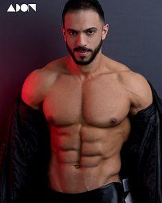 Mahmoud Hwash male fitness model