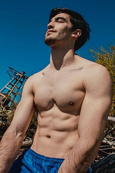 Manuel Benjamín male fitness model