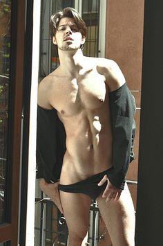 Mark Sencar male fitness model