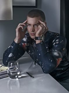 Matthew Rondeau male fitness model