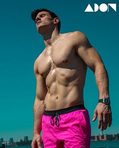 Mike Pugliese male fitness model