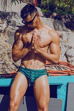 Mikel Roman male fitness model