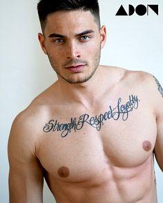 Mirko Nitsche male fitness model