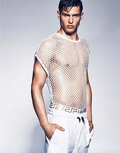 Miroslav Cech male fitness model