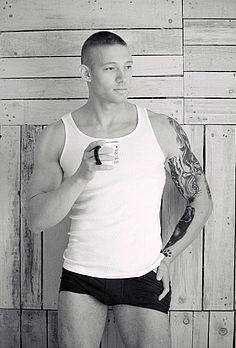 Momchil Lazarov male fitness model