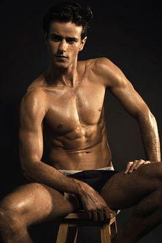 Muriel Vilela male fitness model