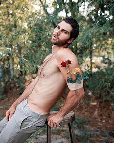Nicholas King male fitness model