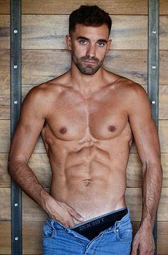 Nicolas Marchionda male fitness model