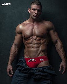 Nikalek Sandrov male fitness model