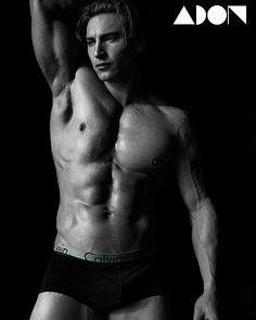 Oscar Gallart male fitness model