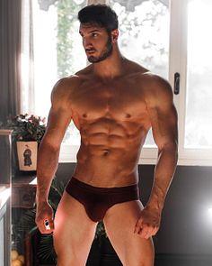 Paride Spaziano male fitness model