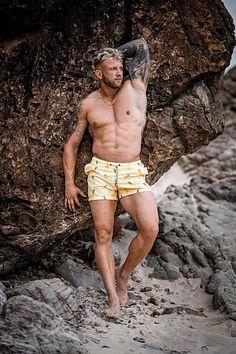 Pat Hill male fitness model